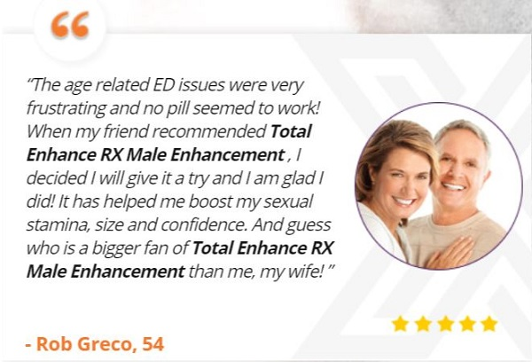 Total Enhance RX Customer Review