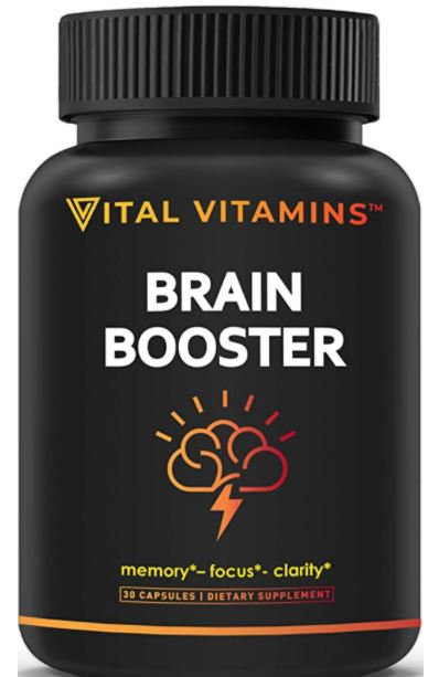 Vital Vitamin Brain Booster Pills