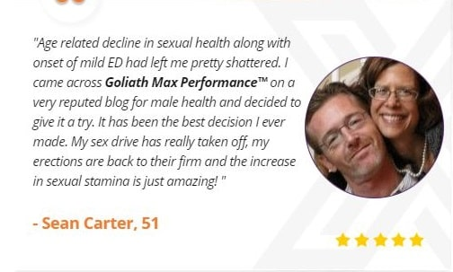 Goliath Max Performance Review