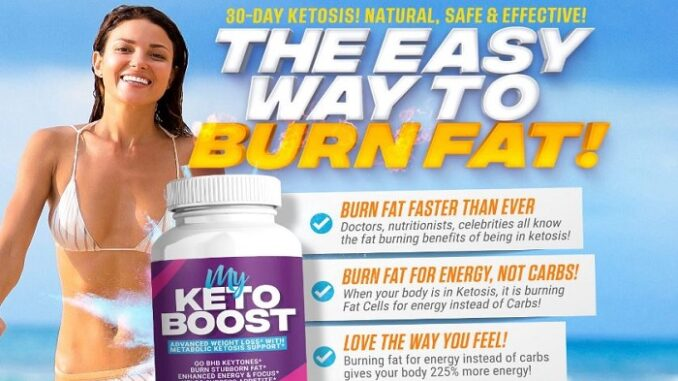 My Keto Boost Reviews